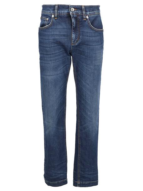 Dolce & Gabbana Boyfriend Jeans in multi
