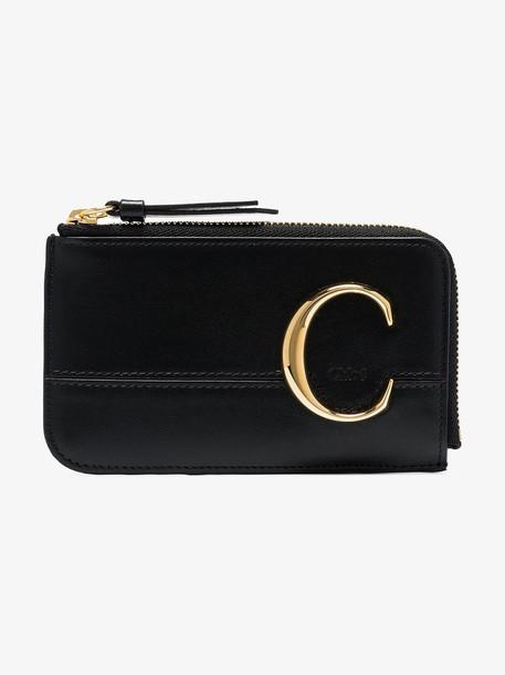Chloé Chloé C coin purse in black