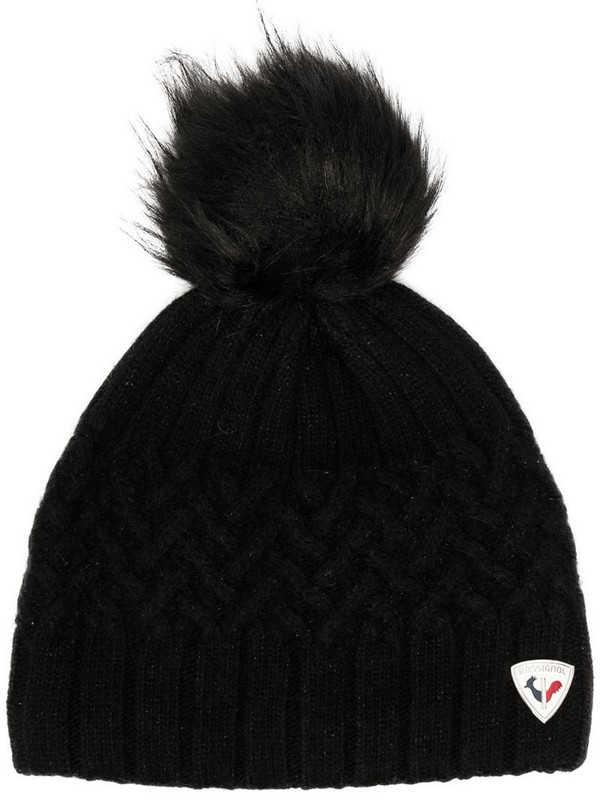 Rossignol poly beanie in black