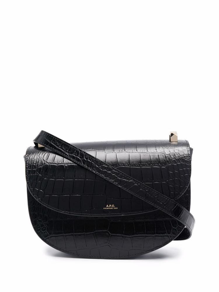 A.P.C. A.P.C. Geneve cross-body bag - Black