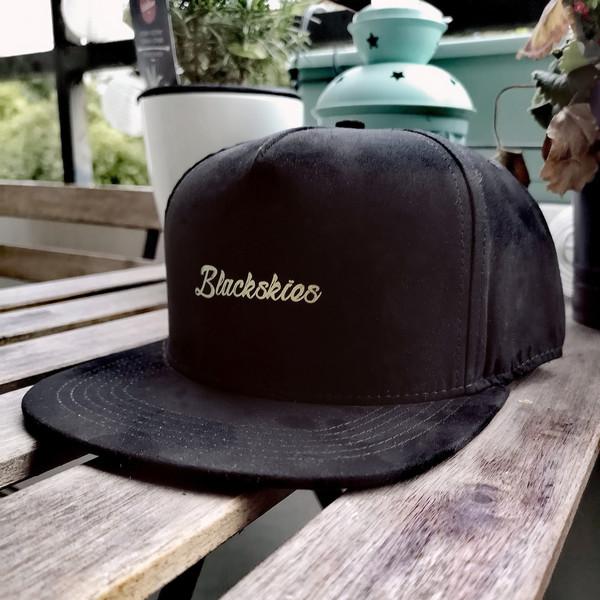 snapback cap suede blackskies gold baseball cap snapback leather hat