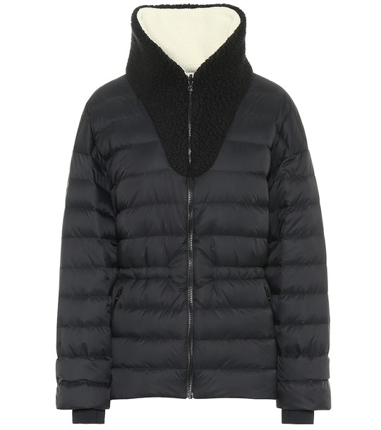 Ienki Ienki Reversible Polar down ski jacket in black