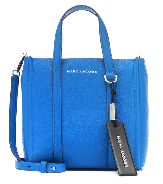 Marc Jacobs The Mini Grind leather tote in blue
