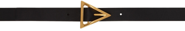 Bottega Veneta Black Triangle Belt