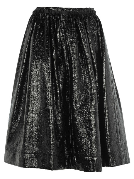 Marni Pleated Skirt in black
