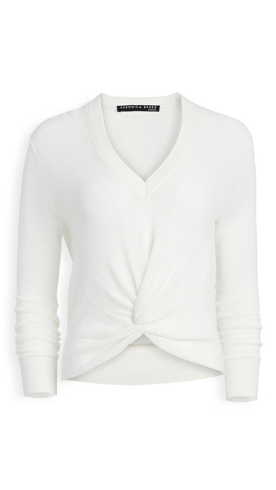 Veronica Beard Jean Soren Sweater in ivory
