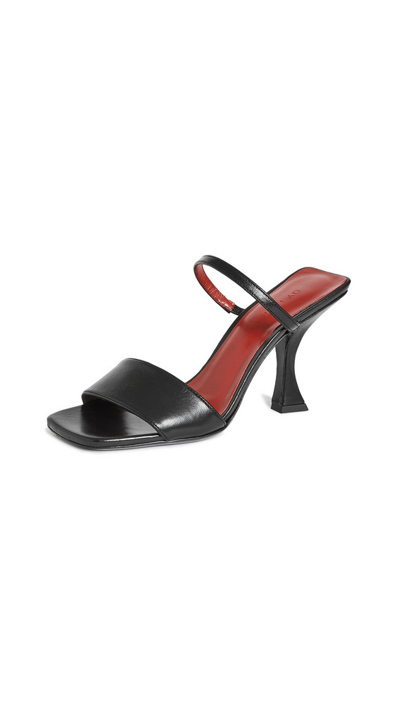 BY FAR Nayla Sandals in black