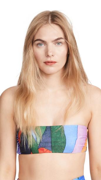 Mara Hoffman Abigail Bikini Top in multi