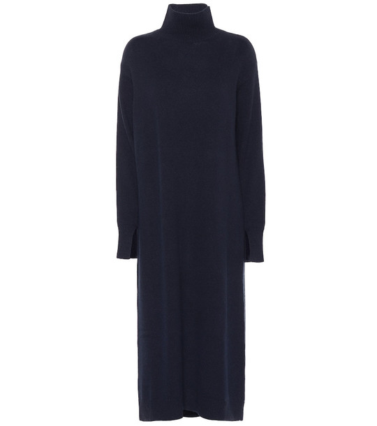 S Max Mara Aladino wool and cashmere dress in black