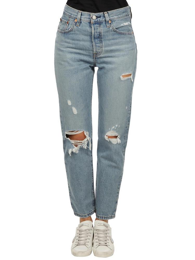Levis Levis 501 Jeans in denim / denim