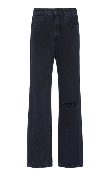 SLVRLAKE London High-Rise Straight-Leg Jeans Size: 24