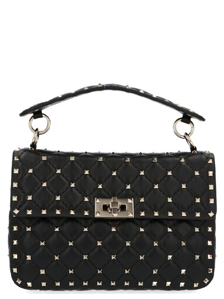 Valentino Garavani rockstud Spike Bag in black