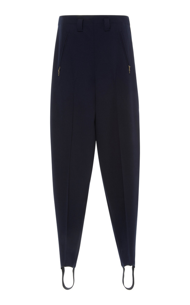 Ralph Lauren Zhanna Straight Pant in navy