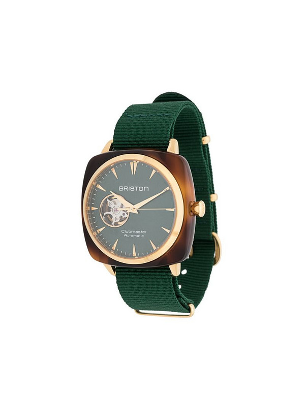 Briston Watches Clubmaster Iconic watch in green