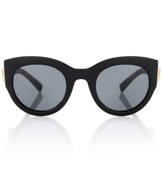 Versace Tribute cat-eye sunglasses in black