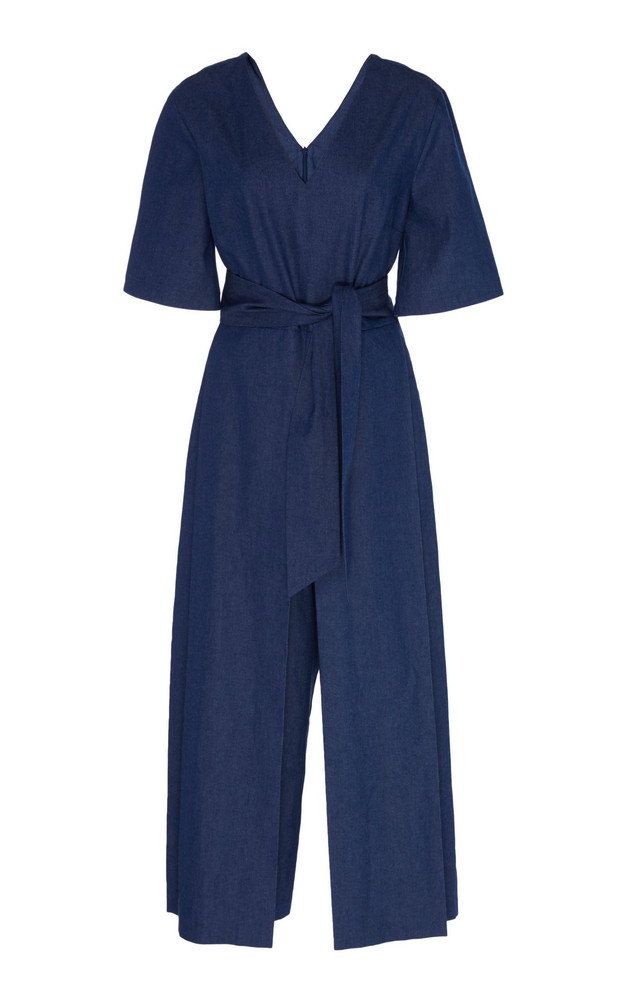 Merlette Serra Denim Jumpsuit in blue