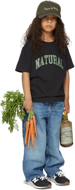 Museum of Peace & Quiet SSENSE Exclusive Kids Black 'Natural' Big Kids T-Shirt