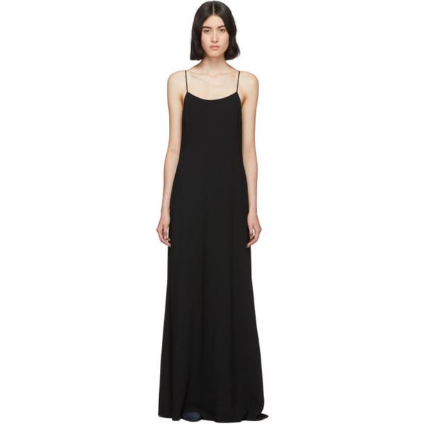 The Row Black Ebbins Dress