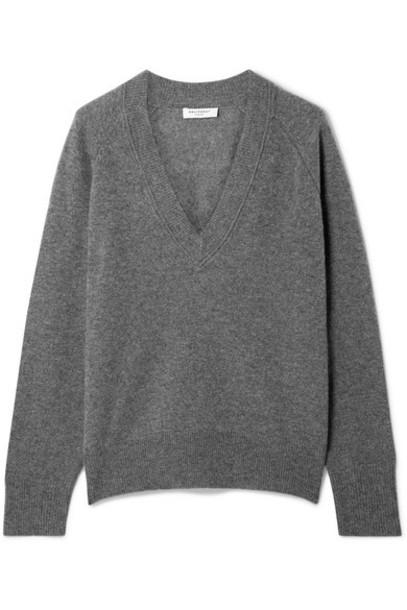 Equipment - Madalene Cashmere Sweater - Dark gray