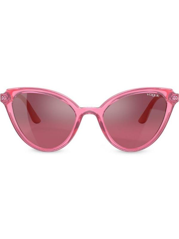 Vogue Eyewear Mod Cut cat-eye frame sunglasses in red