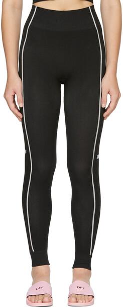 Off-White Black Seamless Athletic Leggings