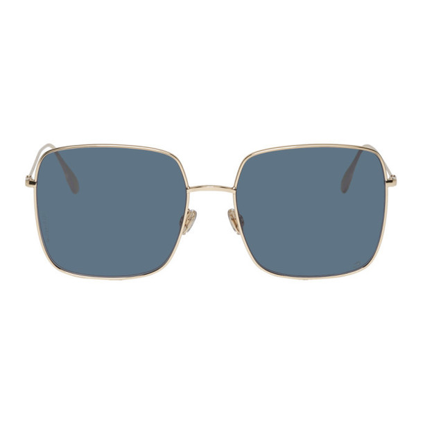 Dior Gold & Blue 'DiorStellaire1' Sunglasses