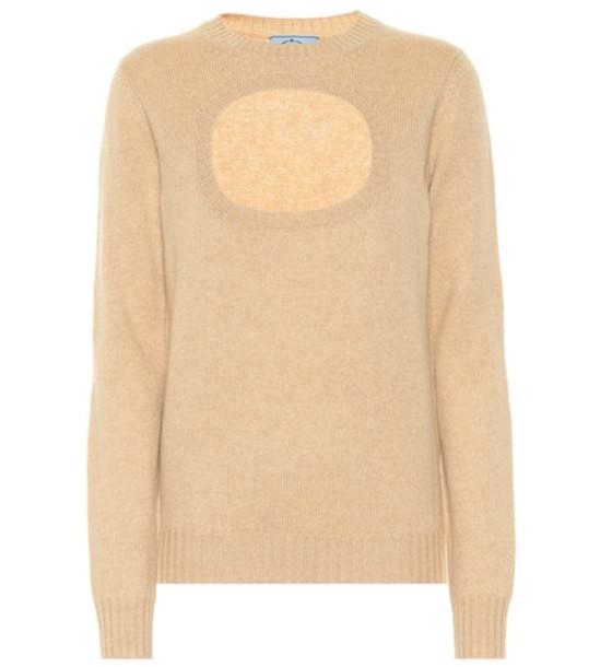 Prada Cashmere sweater in brown