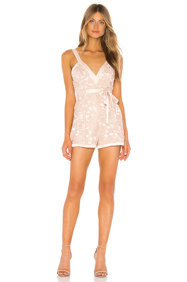 Michael Costello x REVOLVE Tari Romper in pink