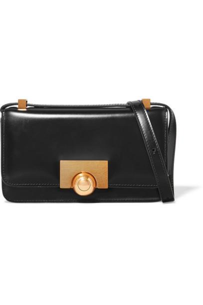 Bottega Veneta - Bv Classic Leather Shoulder Bag - Black