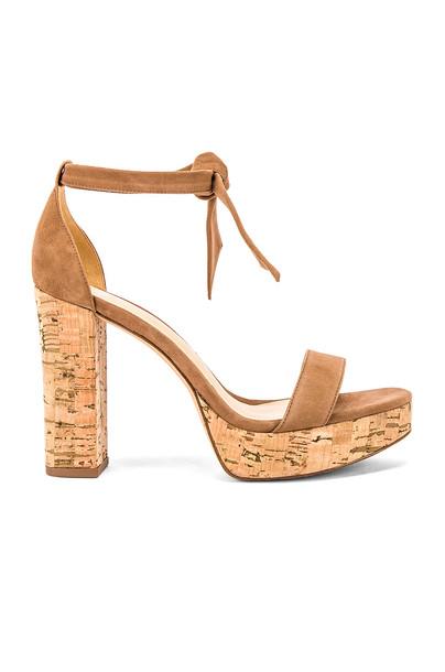 Alexandre Birman Celine Sandal in brown