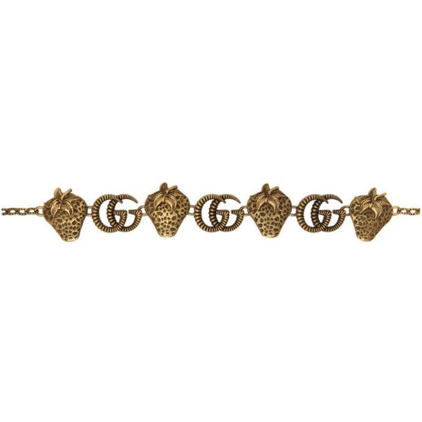 Gucci Gold Metal Chain Belt