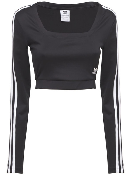 ADIDAS ORIGINALS Long Sleeve T-shirt in black