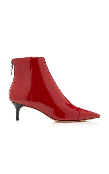 Alexandre Birman Exclusive New Kittie Booties in red