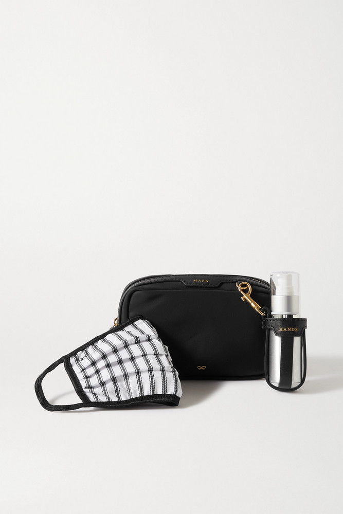 ANYA HINDMARCH - Shell Pouch in black