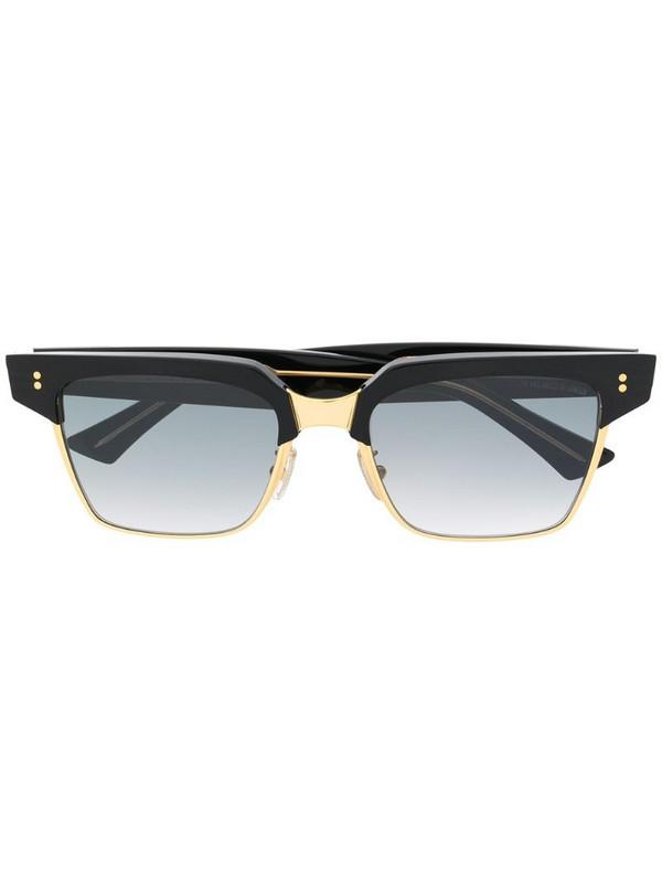 Cutler & Gross tinted oversized frame sunglasses in black