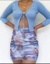 skirt,blue,angel,pretty,insragram