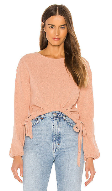 Privacy Please Camilla Sweater in Pink