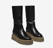 shoes,black,platform shoes,boots,flats