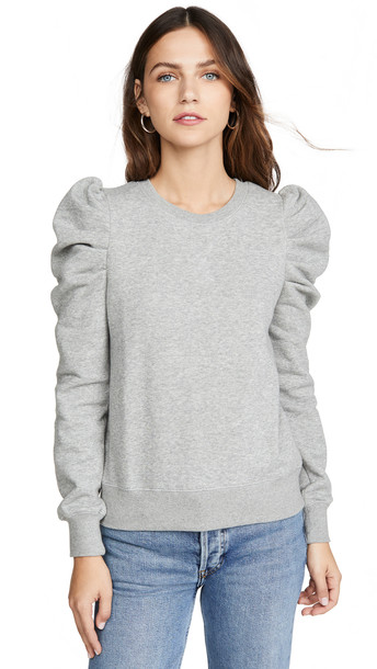 Rebecca Minkoff Janine Sweatshirt in grey