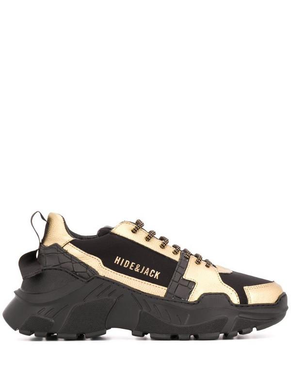 Hide&Jack Speedbump chunky-sole sneakers in black