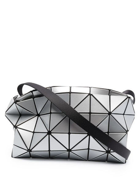 Bao Bao Issey Miyake Carton metallic-effect cross-body bag in grey