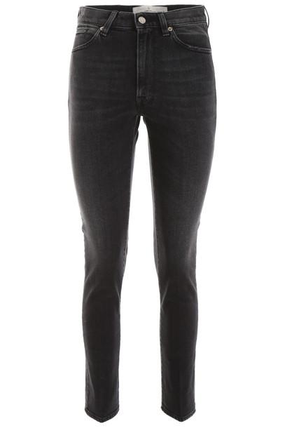 Golden Goose Leggy Jeans in black / grey
