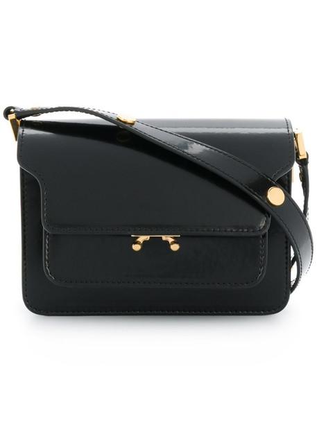 Marni Trunk mini shoulder bag in black