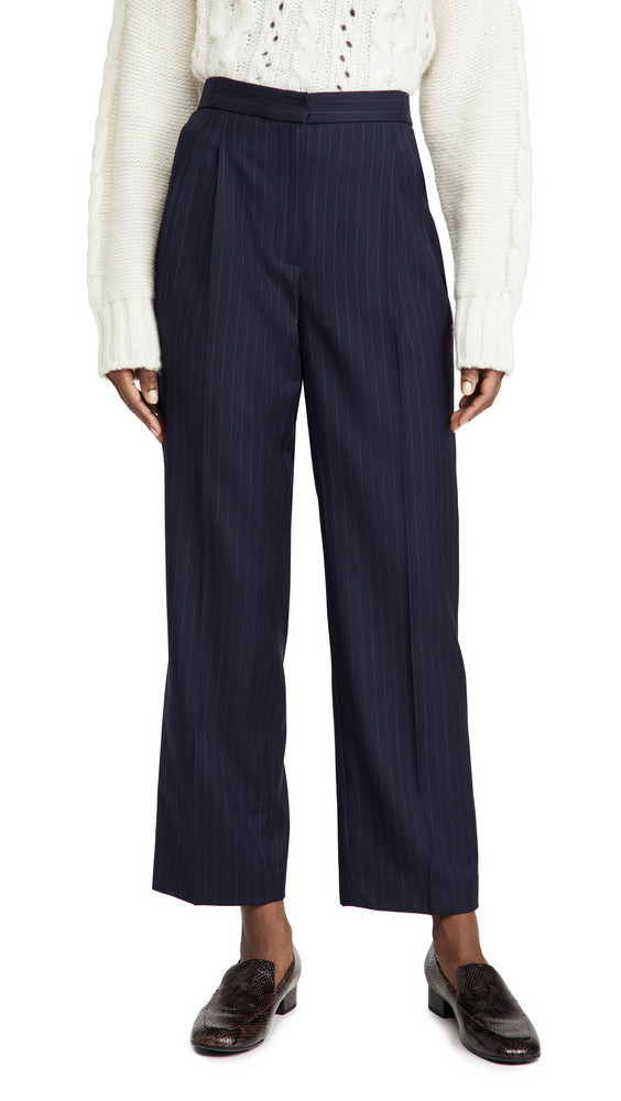 By any Other Name Track Trousers in navy
