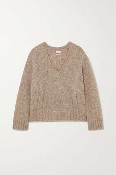 By Malene Birger - Net Sustain Evanna Alpaca-blend Sweater - Brown