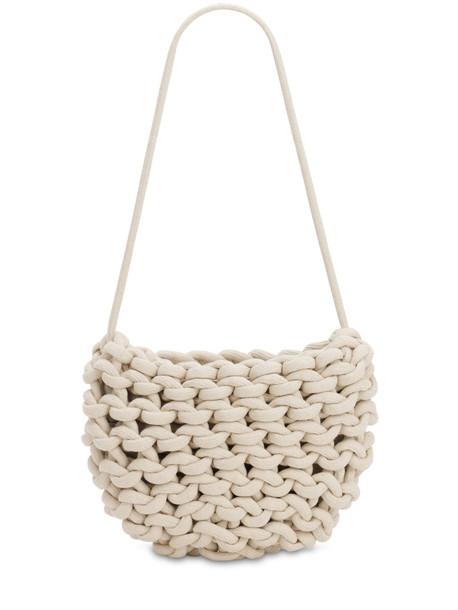 ALIENINA Anne Cotton Bucket Bag in natural