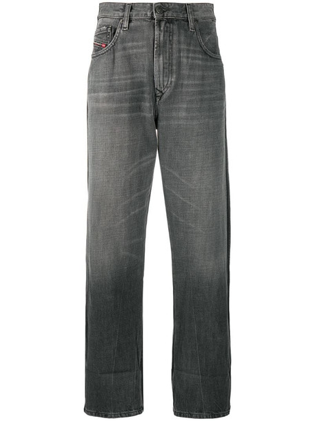 Diesel D-Reggy straight-leg jeans in grey
