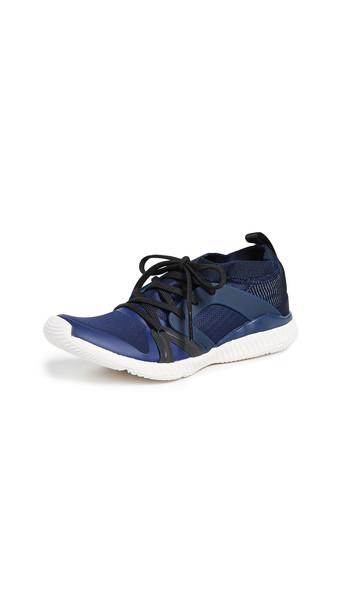 adidas by Stella McCartney CrazyTrain Pro Sneakers in black / indigo / white
