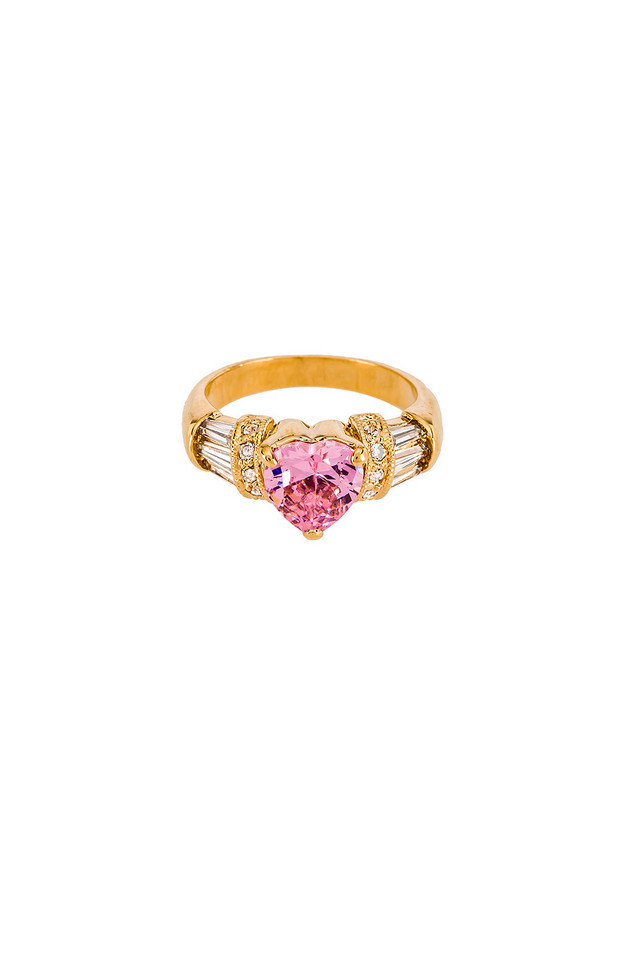 Vanessa Mooney The Lavish Ring in gold / metallic
