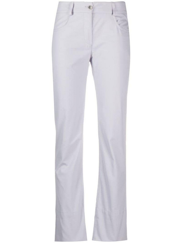 Mr & Mrs Italy flared skinny trousers in grey
